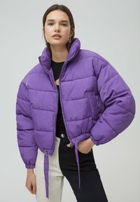 PULL&BEAR - Winter jacket - mottled purple - 0