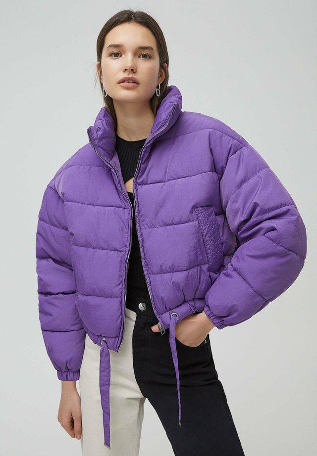 Kurtka zimowa - mottled purple