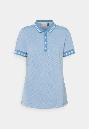 ELLA STRUCTURE  - Polo shirt - blue