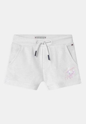 SCRIPT PRINT  - Shorts - white