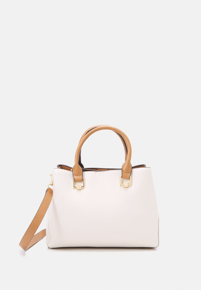 SHOPPER BAG IRIS - Borsa a mano - ecru