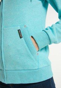 Schmuddelwedda - Zip-up sweatshirt - rauch aqua melange - 3