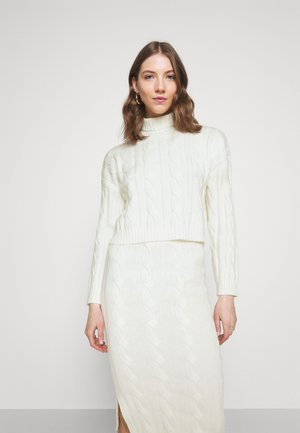 AVERY - Strickpullover - cream