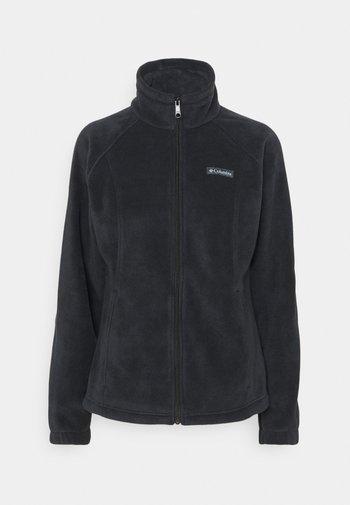 BENTON SPRINGS  - Fleece jacket - black