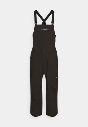 SHRED BIB PANTS - Snow pants - black out