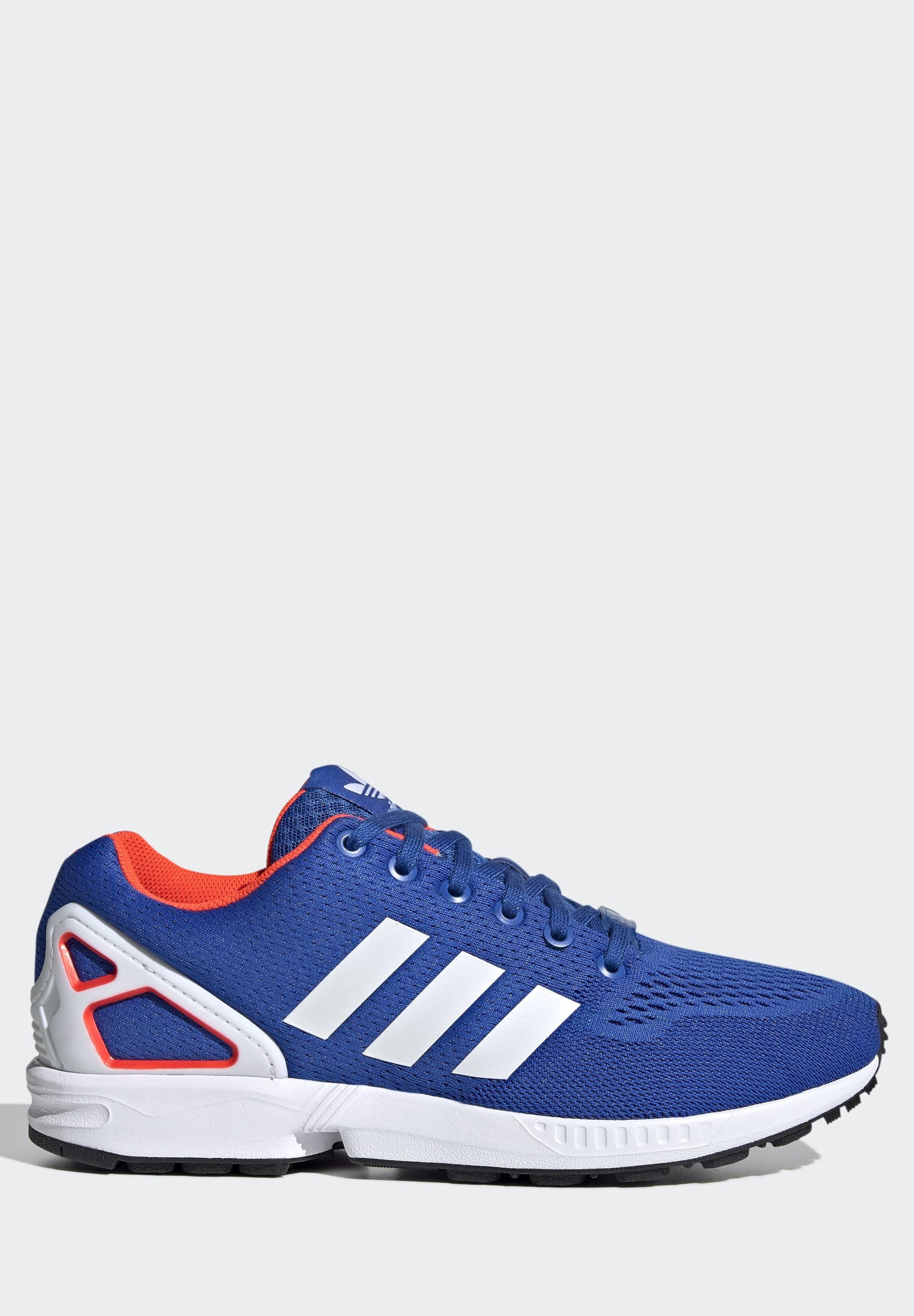 adidas Originals ZX FLUX - Sneaker low - blue/ftwr white/solar red/blau - Herrenschuhe RaRK2