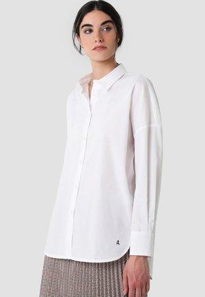 BOPPY - Button-down blouse - white