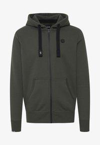 Solid - BENE - Zip-up sweatshirt - climb ivy - 5