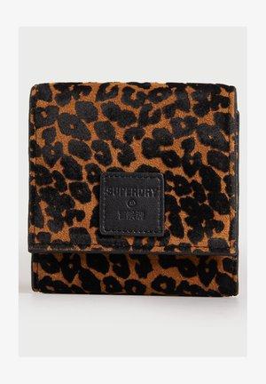 Geldbörse - leopard print
