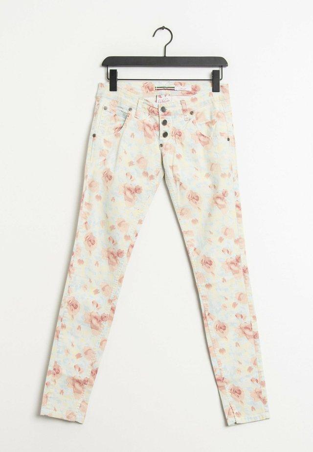 Slim fit jeans - multi-colored