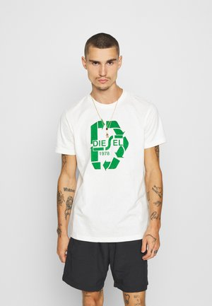 T-DIEGOS-N23 T-SHIRT - Print T-shirt - offwhite
