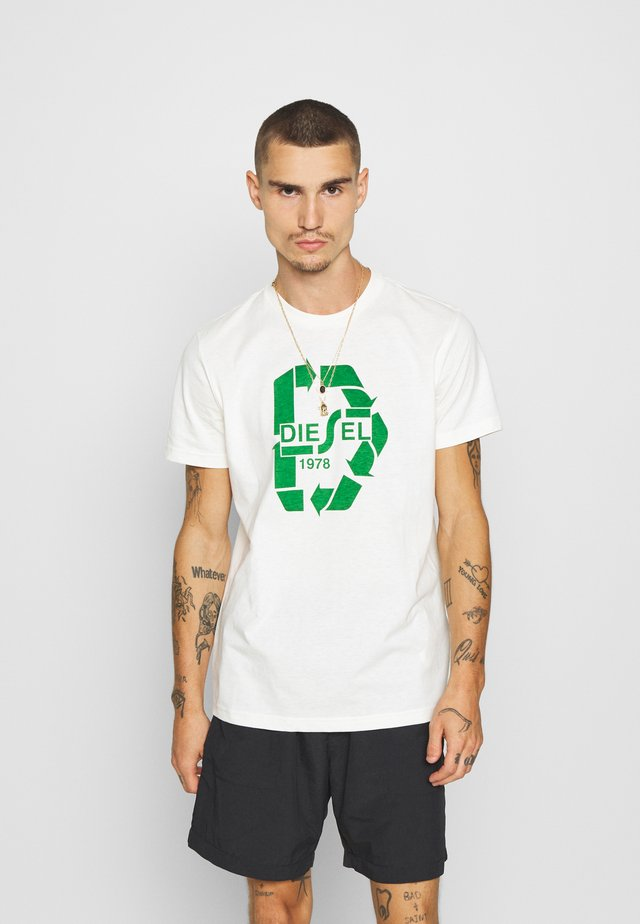 T-DIEGOS-N23 T-SHIRT - T-shirt con stampa - offwhite