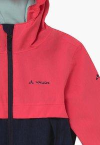 Vaude - KIDS HYLAX 2L - Hardshell jacket - bright pink - 3
