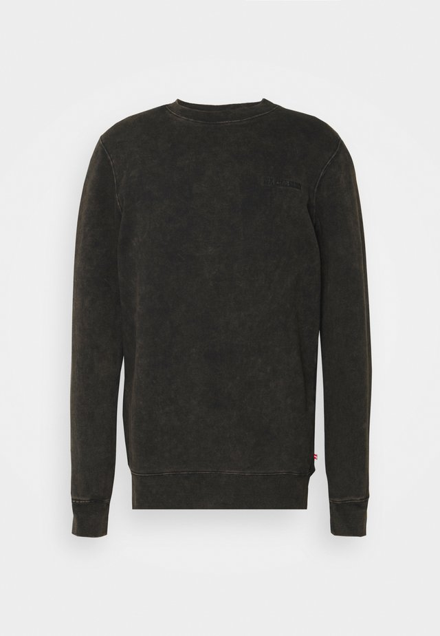 CASUAL CREW - Sweatshirt - brown acid