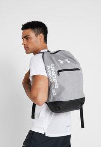 Under Armour - PATTERSON BACKPACK - Rucksack - steel medium heather/black/white - 1