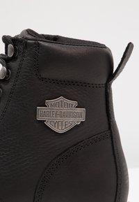 Harley Davidson - VISTA RIDGE   - Lace-up ankle boots - black - 5