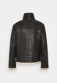 Be Edgy - AUSTIN - Leather jacket - black/white - 2