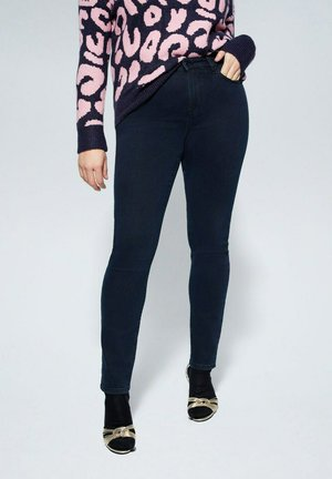 SUSAN - Slim fit jeans - intensives dunkelblau