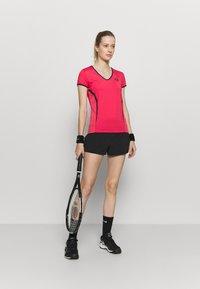 sergio tacchini - EVA  - Sports shirt - rougered/navy - 1