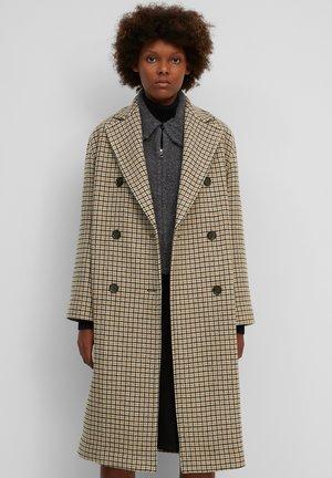 Classic coat - multi/beige