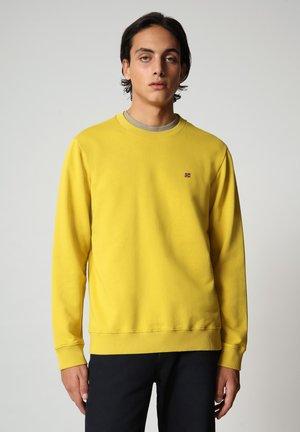 BALIS - Sweatshirt - yellow moss