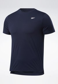 Reebok - UNITED BY FITNESS PERFORATED T-SHIRT - Camiseta estampada - blue - 0