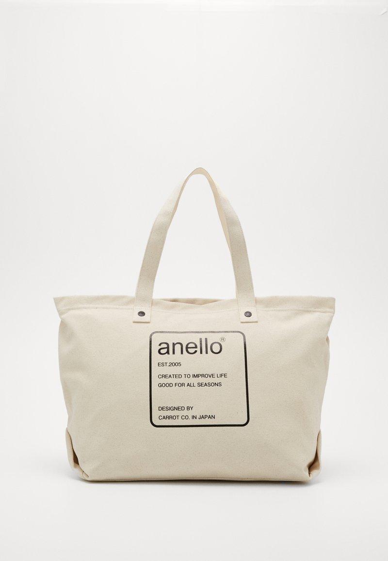 anello - AUBREY TOTE BAG  - Tote bag - natural