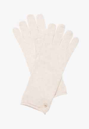 HANDSCHUHE  - Handschoenen - alpaca melange
