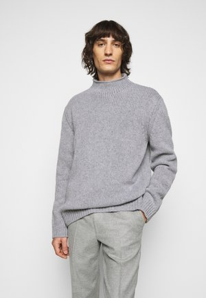 MIX TATE TURTLENECK  - Strickpullover - warm grey