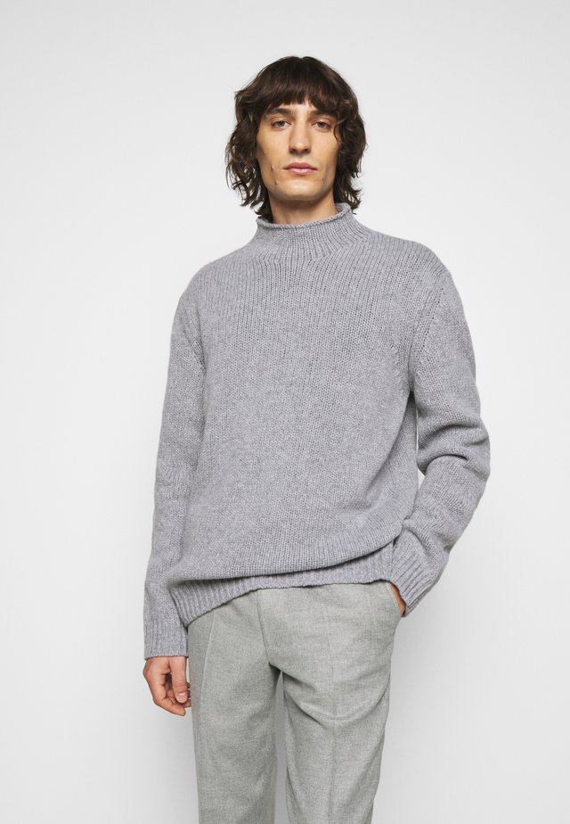 MIX TATE TURTLENECK  - Jumper - warm grey