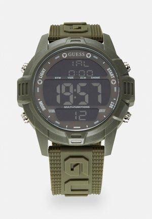Digitaal horloge - khaki