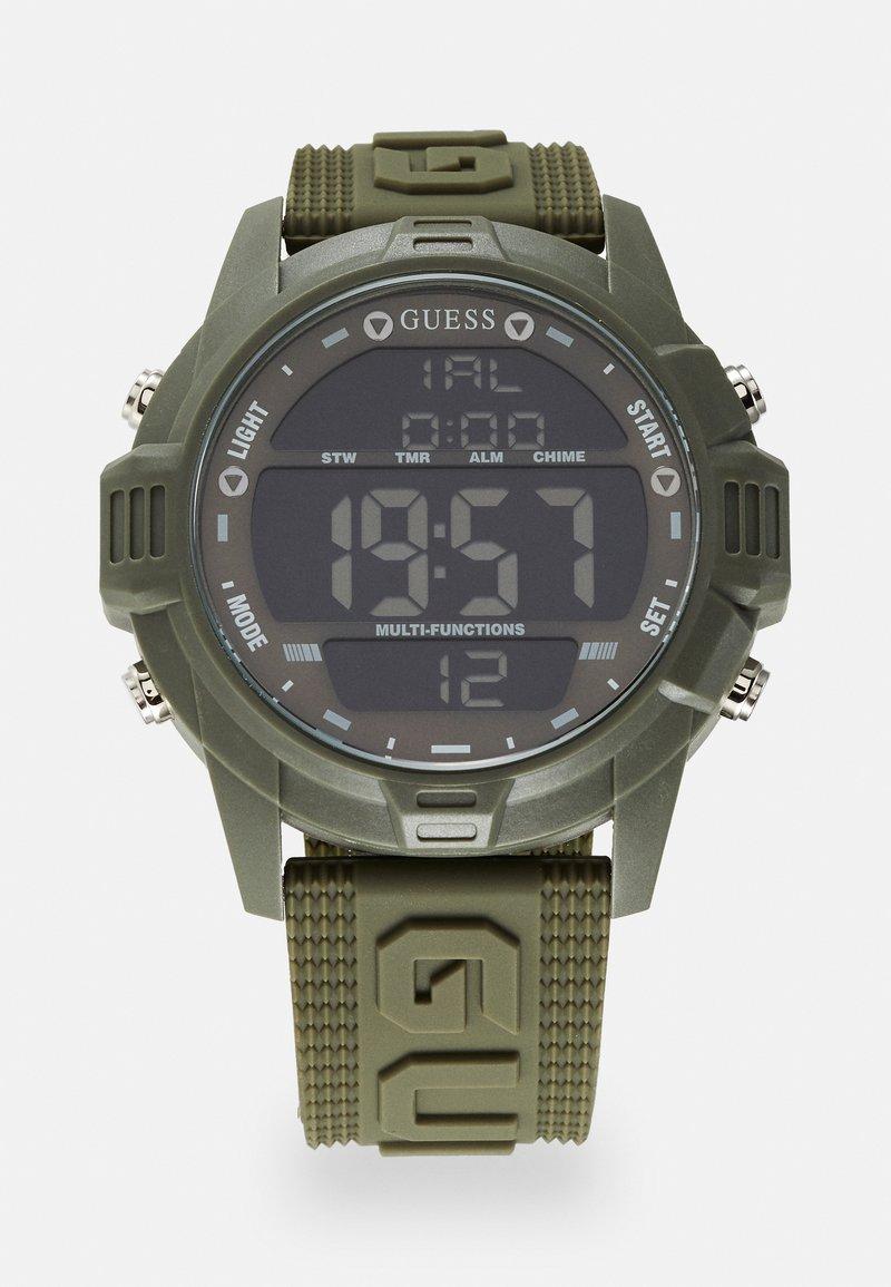 Guess - Digital watch - khaki