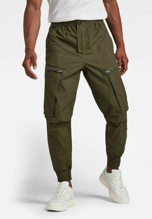 FLIGHT RCT CARGO - Cargo trousers - dk bronze green