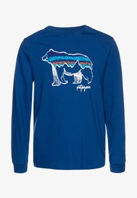 Patagonia - GRAPHIC ORGANIC - Long sleeved top - superior blue - 0