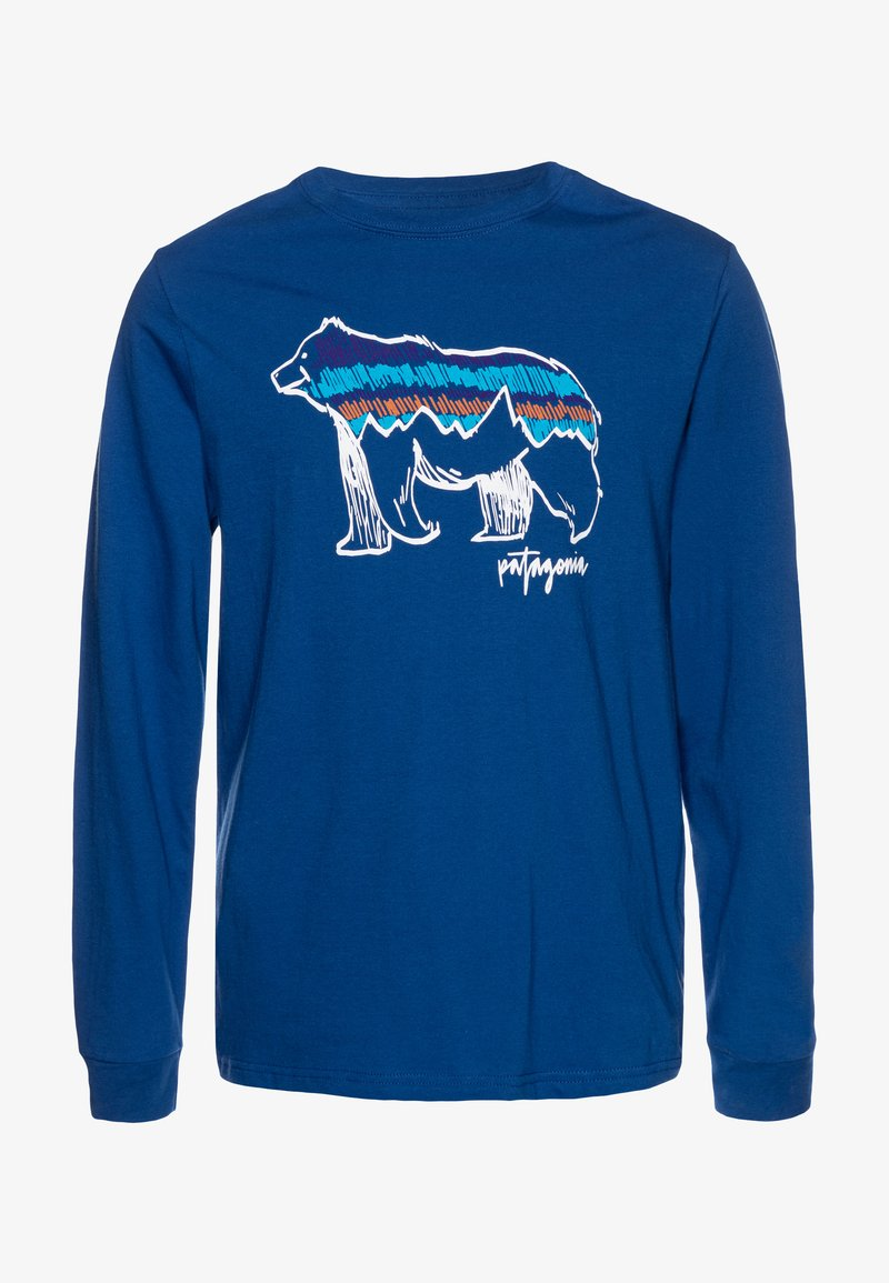 Patagonia - GRAPHIC ORGANIC - Long sleeved top - superior blue
