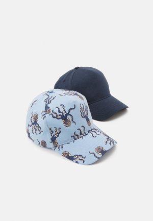 ROUNDPEAK 2 PACK UNISEX - Cap - dark dusty blue