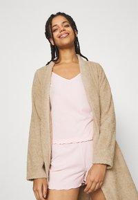 Anna Field - TERRY BATHROBE  - Dressing gown - beige - 3
