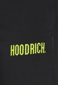 Hoodrich - CORE JOGGERS - Tracksuit bottoms - black/lime - 2