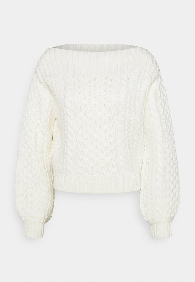 CHUNKY  - Pullover - ivory