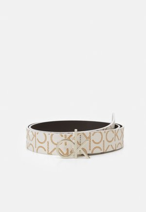 LOGO BELT MONO - Belt - white