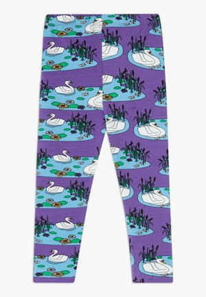 SWAN - Legging - purple heart