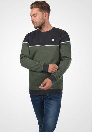 DEWAR - Sweater - dark grey melange