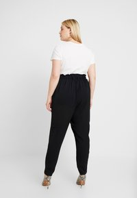 New Look Curves - X SOFT UTILITY TROUSER - Pantalon classique - black