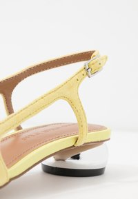 Who What Wear - EDEN - Classic heels - yellow - 2