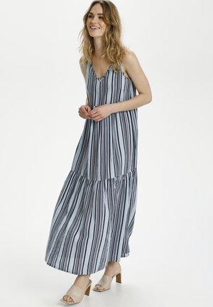 BPSUSANA - Maxi dress - blue/midnight stripe