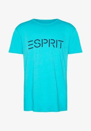 LOGO - T-shirt imprimé - aqua green