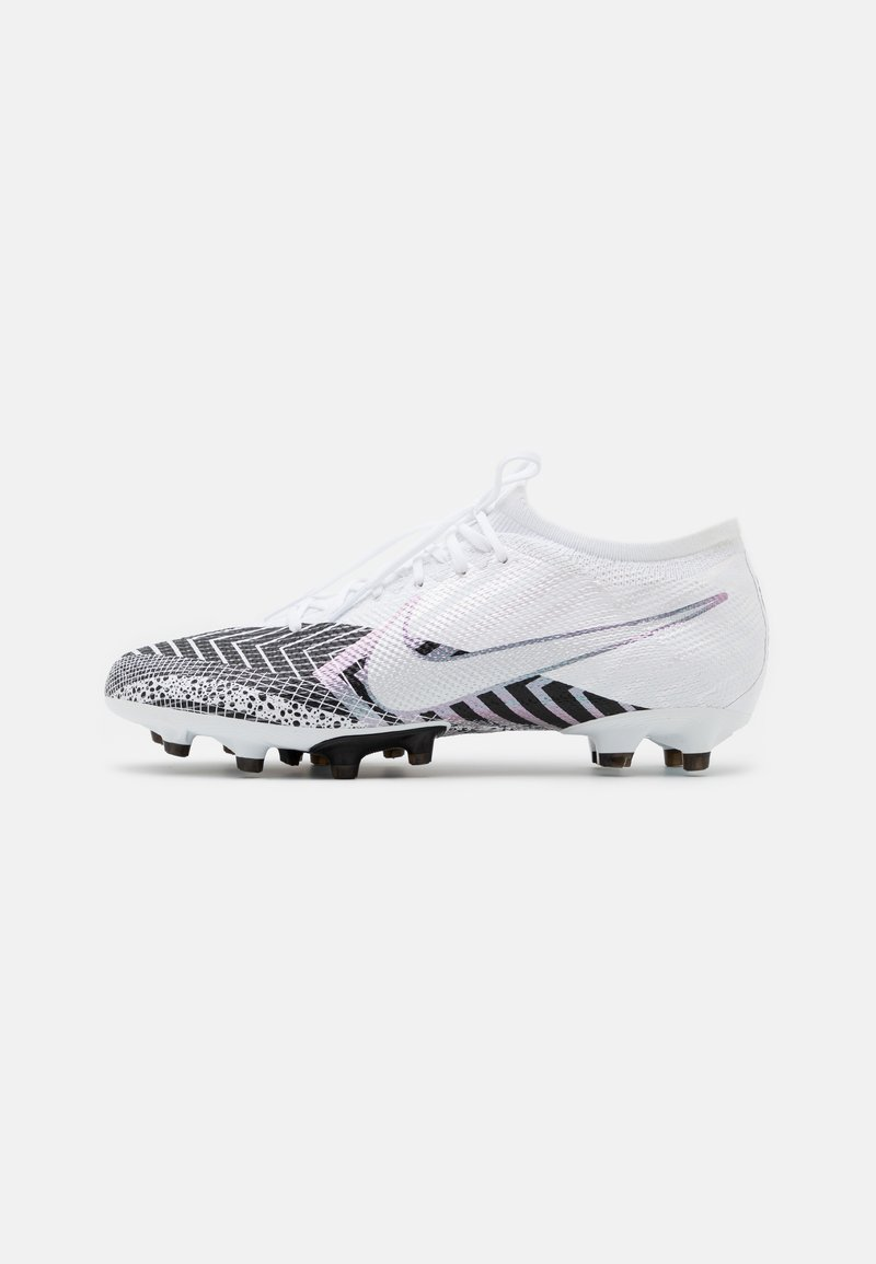 Nike Performance - MERCURIAL VAPOR 13 PRO MDS AG-PRO - Moulded stud football boots - white/black
