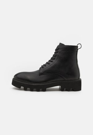 ELLIOT - Lace-up ankle boots - black