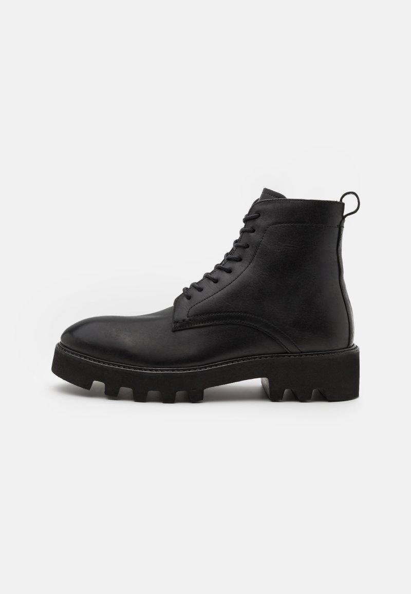 Hudson London - ELLIOT - Lace-up ankle boots - black