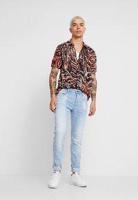G-Star - 3301 SLIM - Slim fit jeans - blue denim - 1